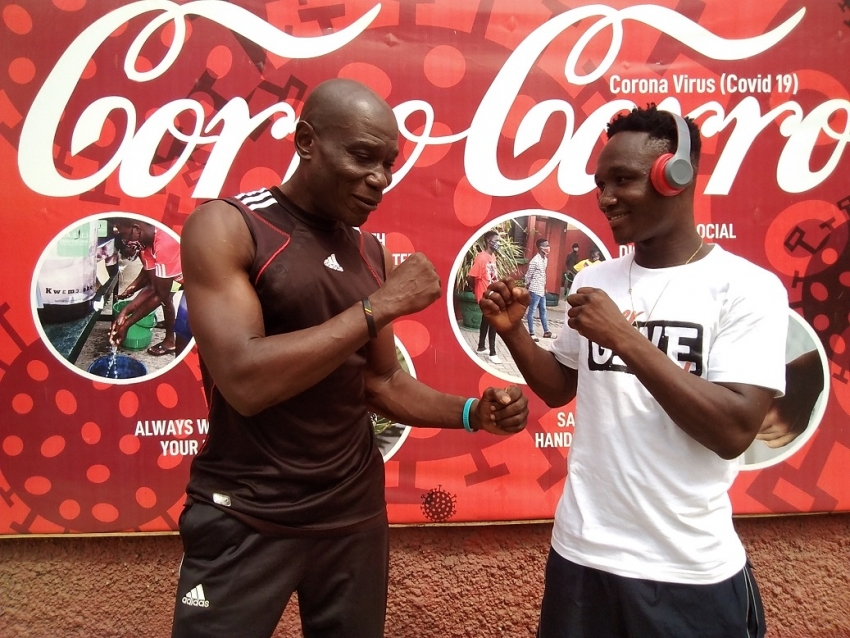 Manyo Plange Advises Black Bombers To Be Focused And Go For The Ultimate At Olympic Games 2020