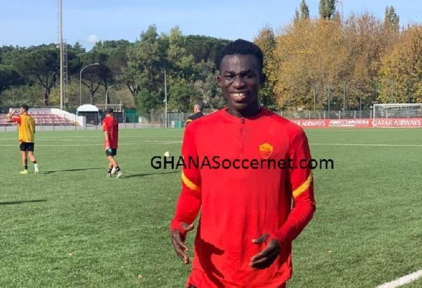 AS Roma to announce 'mysterious' 18-year-old striker Gyan from Ghana