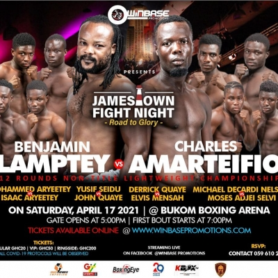 Winbase Boxing Promotions presents 'James Town Fight Night' (Road To Glory)