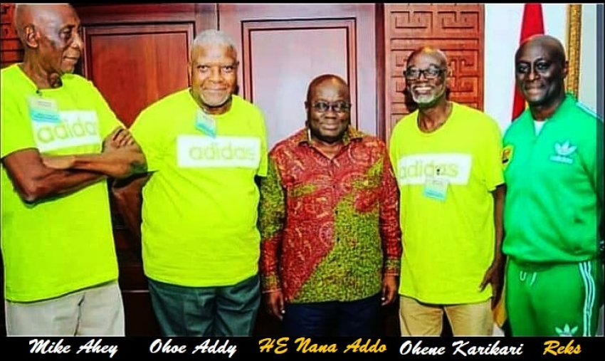 Adidas to honor 3 athletics greats - Mike Ahey, Oko Addy and  Ohene Karikari