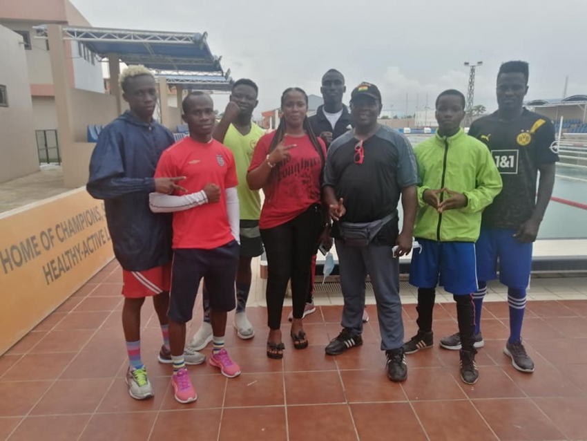 Black Bombers Get Dietician Justine Sitsofe's Special Guidance