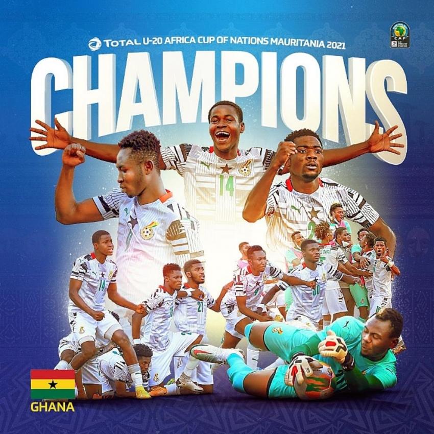 Ghana beats Uganda 2-0 to lift fourth U-20 AFCON title