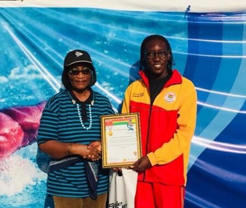 Unilez Takyi Receives Her WISA Achievers Award