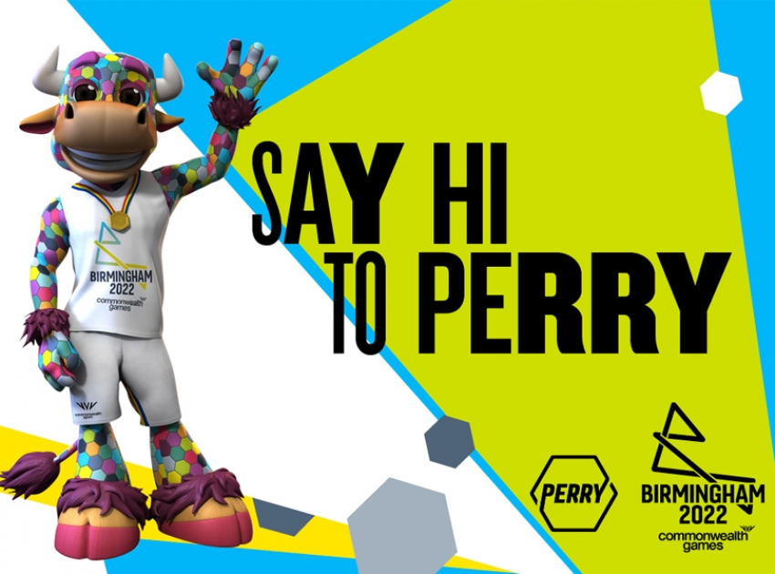 Commonwealth Games 2022 mascot - Perry