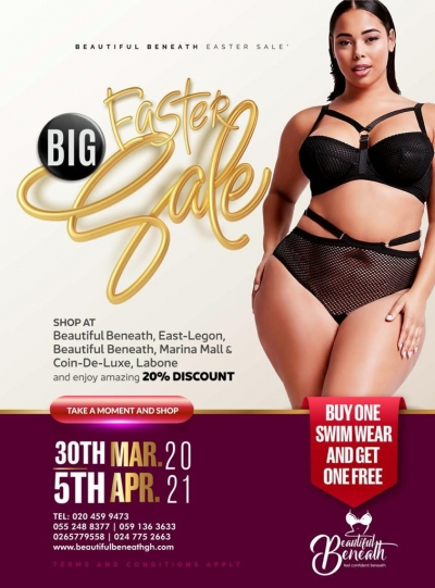 Beautiful Beneath Big Easter Sale