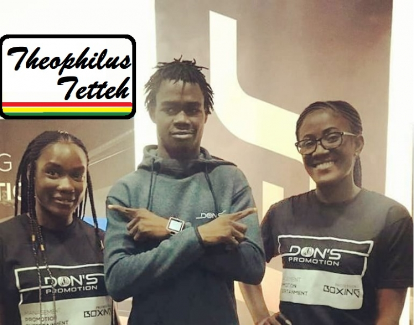 Ghana's Theophilus Tetteh to feature in 'Rumble Africa Promotions' in RSA