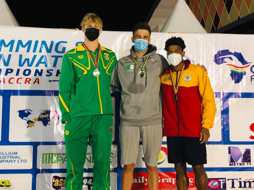 Medals Winners (Podium Finishers) At 14th CANA African Swimming & Open Water Championship