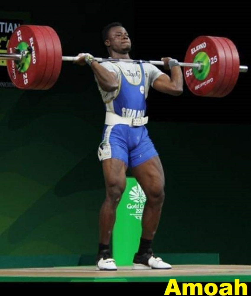 Weightlifter Christian Amoah Qualifies For Tokyo 2020