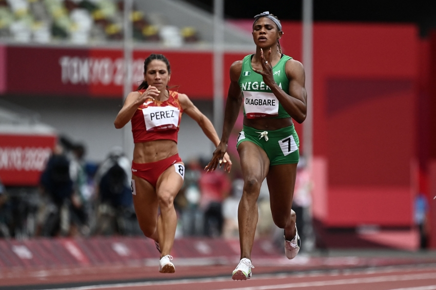 Nigerian sprinter Okagbare ruled out of Tokyo 2020 after positive drugs test