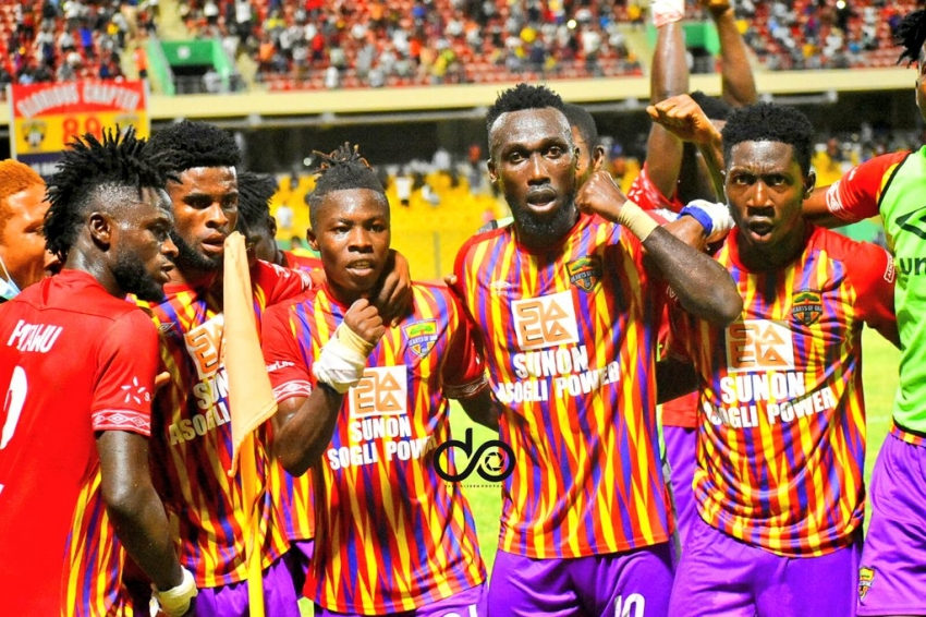The new fearsome sixsome of Accra Hearts of Oak