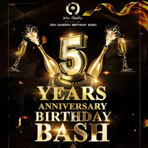 Zen Garden Birth Day Bash On Nov. 28