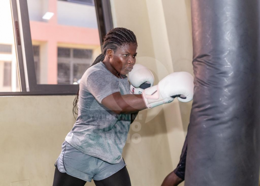 Meet Sarah Apew, The Pretty Boxer With The Big Punch