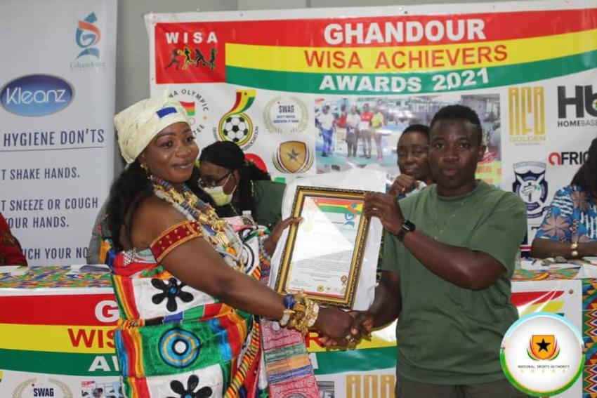 Naa Yaoley Atsiabroni 1 commends WISA and Award winners