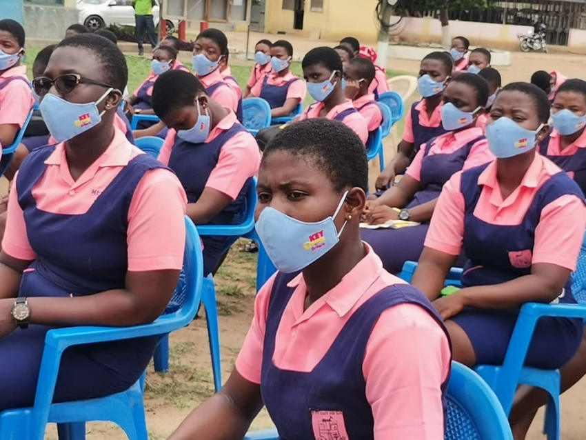 Unilever Ghana and One-On-One Foundation Wish SHS Students Success In Their Exams