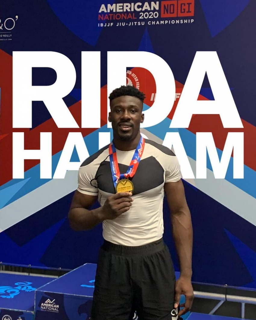 RIDA Haisam Wins Gold In Super Heavy Weight Division At IBJJF USA Nationals