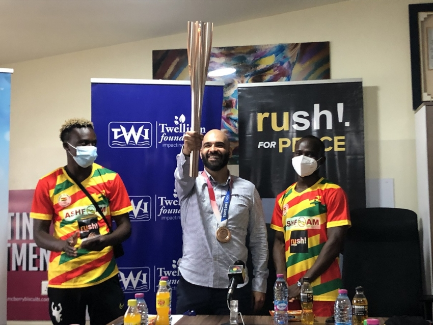 Twellium Industrial Company Thrilled By Performance Of Team Ghana At Tokyo 2020