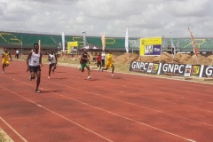 Kate Agyeman and Edwin Gadayi steal GNPC Ghana's Fastest Human 2021 Show in Accra Open